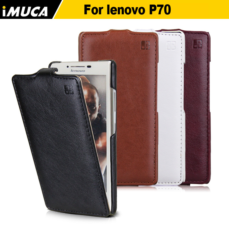 IMUCA P70 Luxury Leather Flip Cases For Lenovo P70 P70t p70a P 70 Mobile phone cases accessories Cover Shell Bag Holster