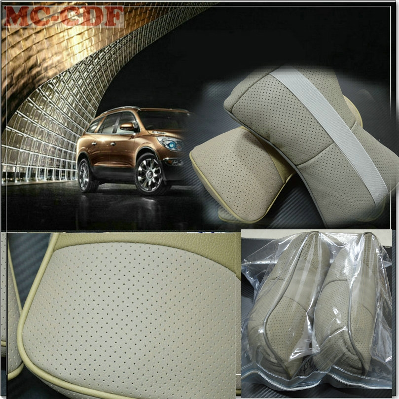 Car Styling Charcoal Headrest Car Automotive Interior Cushion Car Accessories for Volvo XC90 XC60 S80L S60 S40 C30 V6