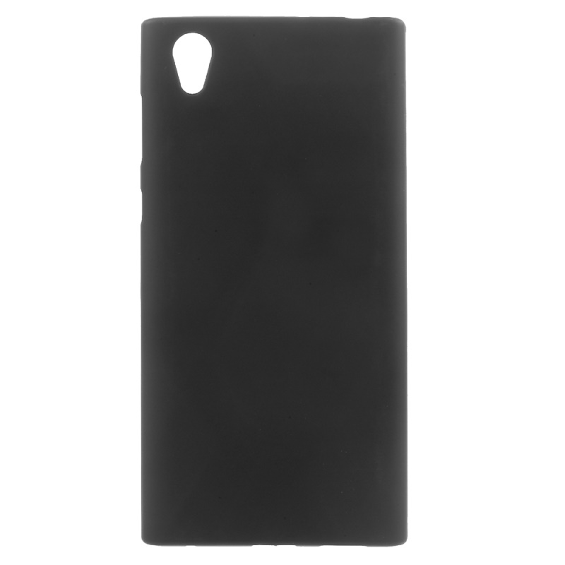 for Sony Xperia L 1 Phone bag case Gel TPU Flexible Cell Phone Accessory for Sony Xperia L1 capa fundas- Black