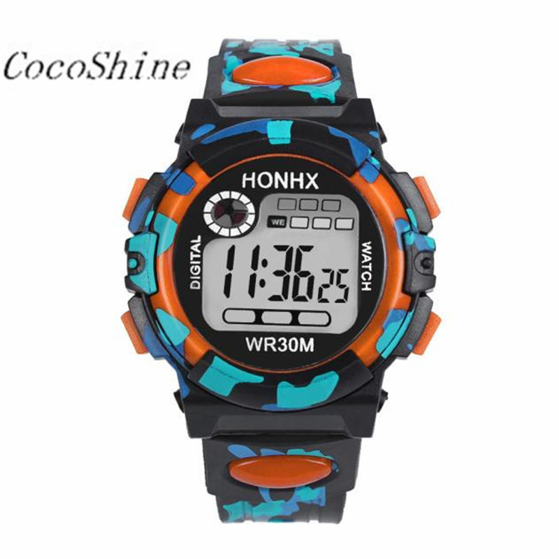 CocoShine A-923 Kids Child Boy Girl Multifunction Waterproof Sports Electronic Watch Watches wholesale