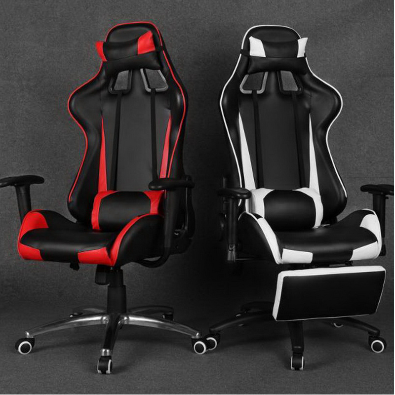 350101/massage Home office can lie down computer chair /gaming chair / boss massage chair /Wear-resistant microfiber PU leather