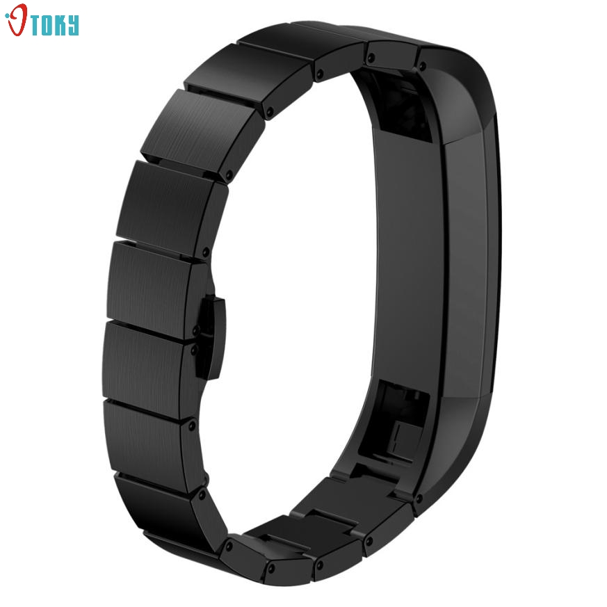 OTOKY Dignity 2017 Stainless Steel Watch Band Wrist strap For Fitbit Alta Smart Watch Mar24