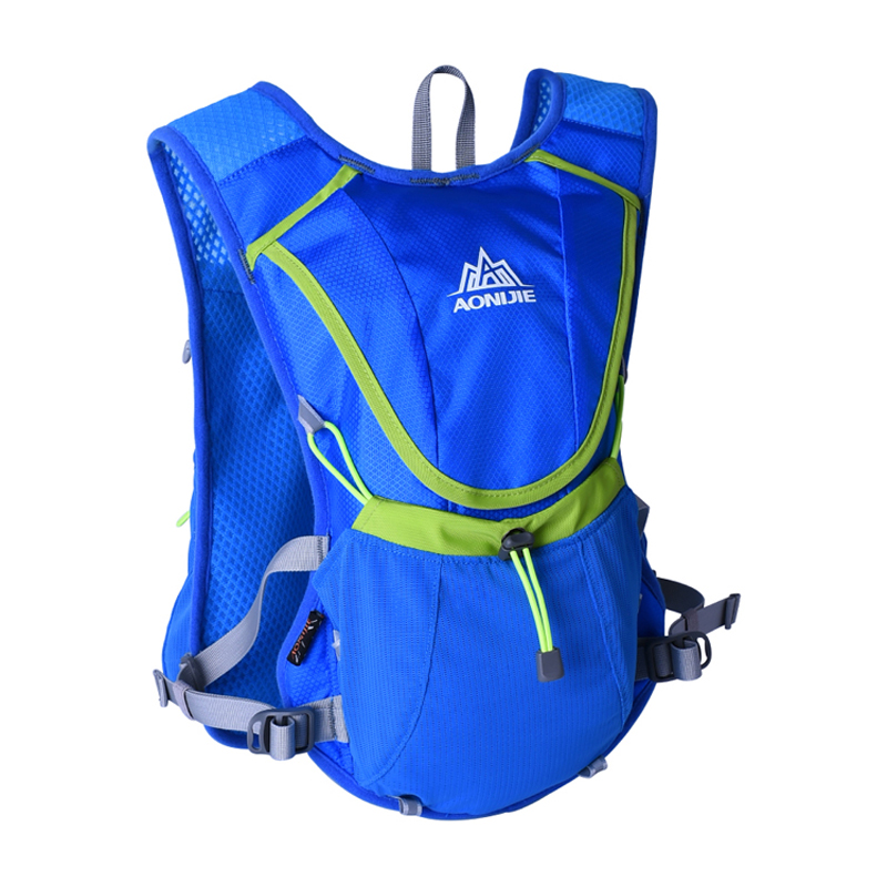 AONIJIE Men Women Lightweight Trail Running Backpack Outdoor Sports Hiking Marathon Racing Bag Optional 1.5L Hydration Water Bag