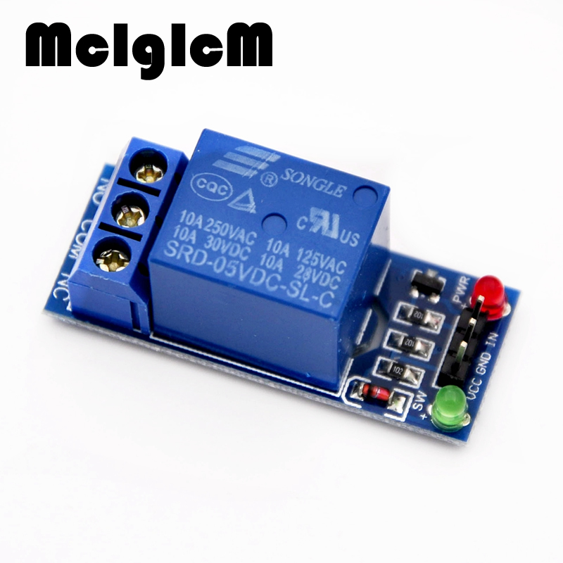 86028 FREE SHIPPING 5pcs 1 Channel 5V Relay Module high level for SCM Household Appliance Control