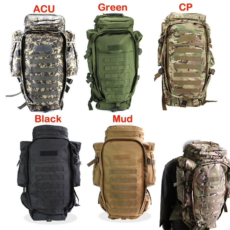 Outdoor Tactical Backpack Backpacks Travel Climbing Bags Outdoor Sport Hiking Camping Army Bag Military Male