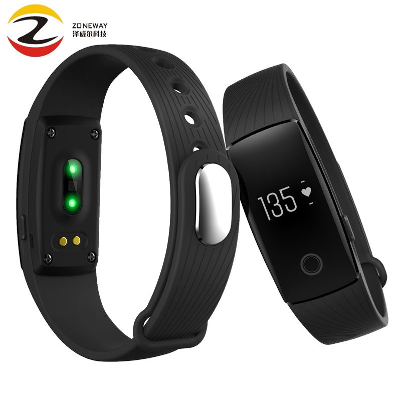 V05C Activity Tracker Monitor smart band Smartband Heart Rate Smart Band VS Fit Bit Miband 2 Mi Band 1s Fitbits Smart Wristband