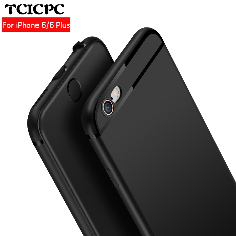 For Fundas IPhone 6 IPhone 6S Plus Case TCICPC Luxury Ultra Thin Silicone TPU Soft Cover Case For Funda Apple IPhone 6S Plus