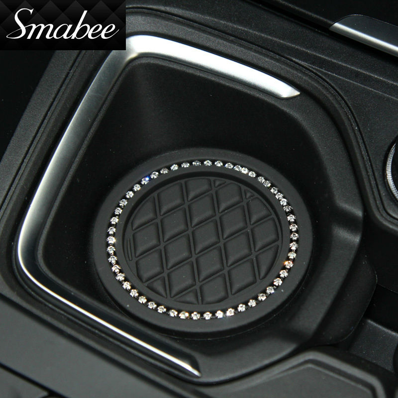 Smabee Door Groove Mat For 2011-2016 BMW X3 X4 Gate slot pad Automotive interior Anti-Slip Mat Auto Accessories 8pcs
