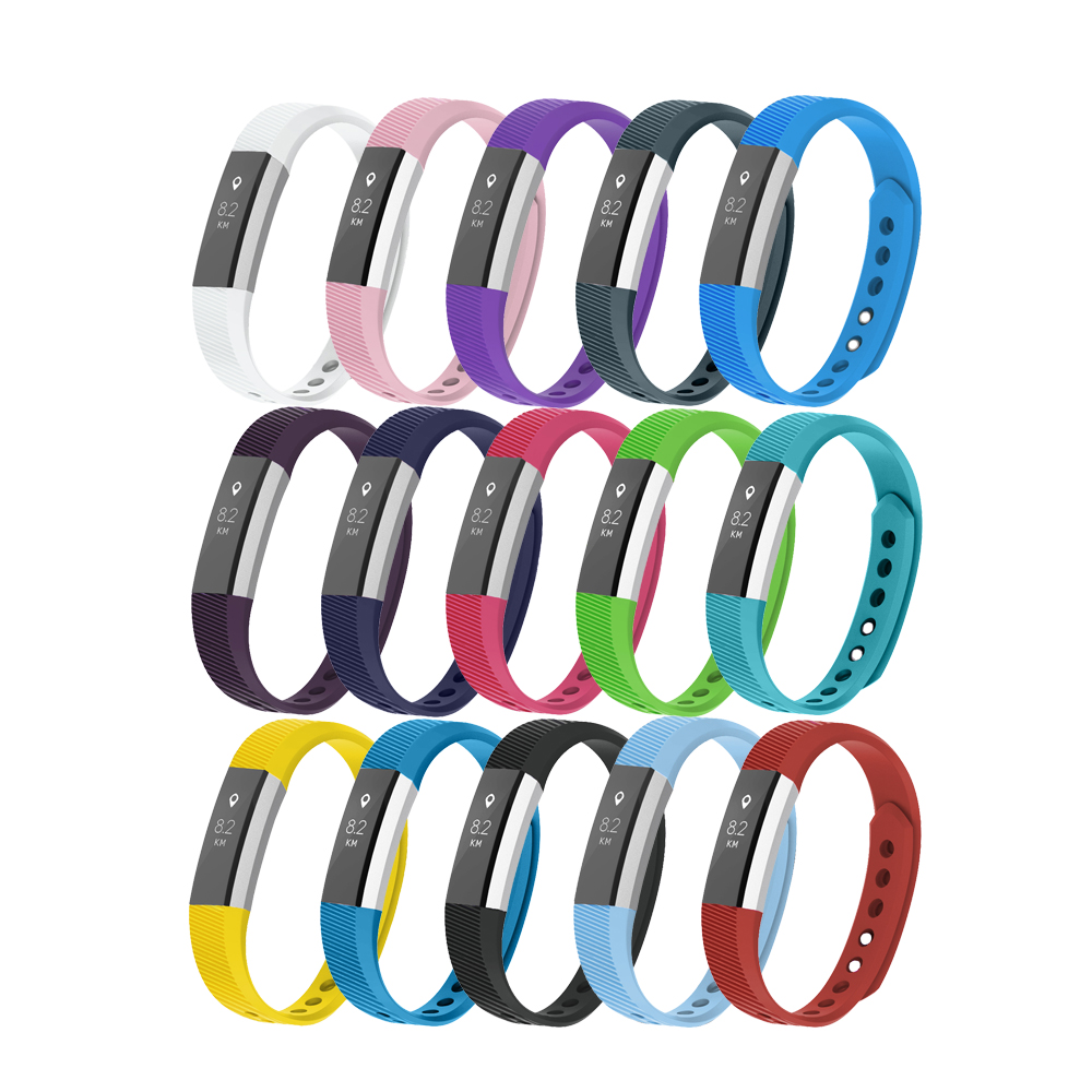 High Quality Soft Silicone for Fitbit Alta HR Watch Band Wristband Bracelet Replacement Accessories with Secure Adjustable Strap