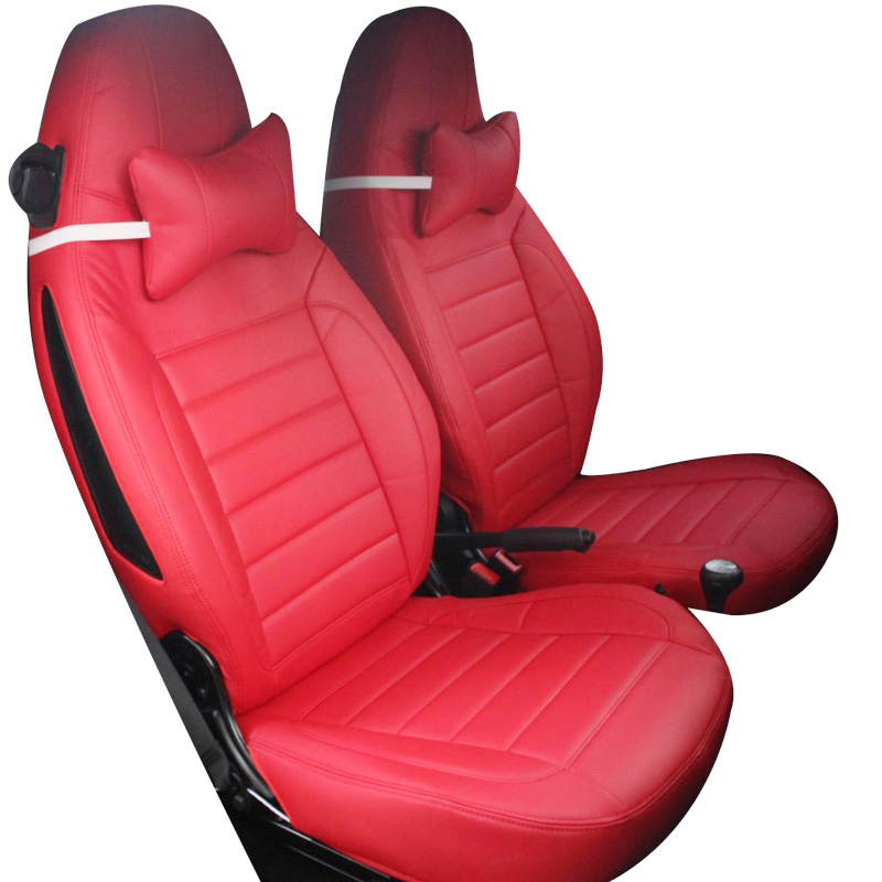 Yuzhe Leather car seat cover For Mercedes-Benz smart fortwo smart forfour Car accessories Styling Cushion