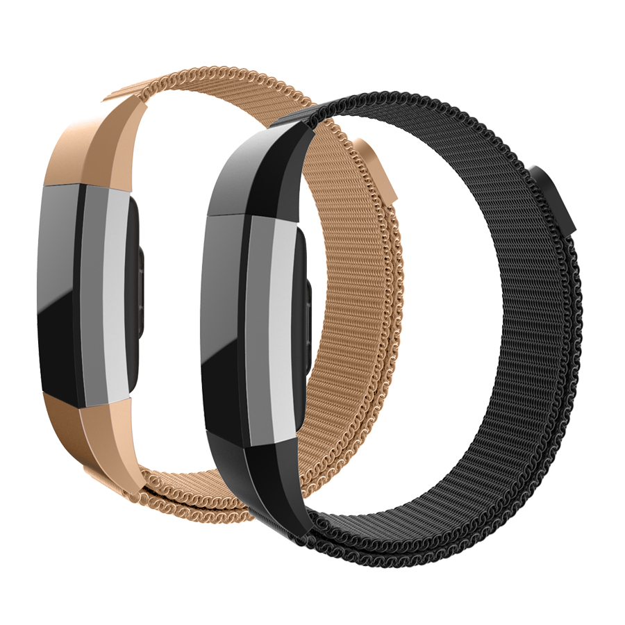 Hot Sale Milanese Loop Wrist strap for Fitbit Charge 2 Bracelet Band Bracelet Stainless Wrist Steel Men Woman Adjustable Closure
