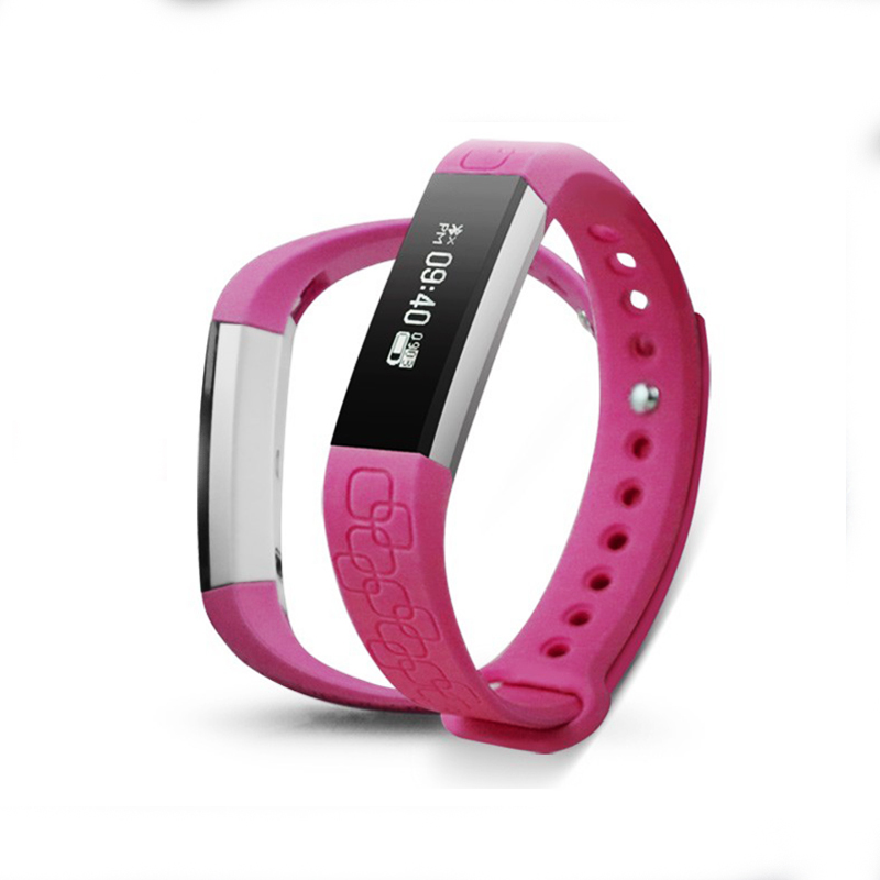 Micro-K Bluetooth Smart Band Heart Rate Monitor Pedometer Call Message Remind for iOS Android Wristband PK Fitbits mi band 2 P2