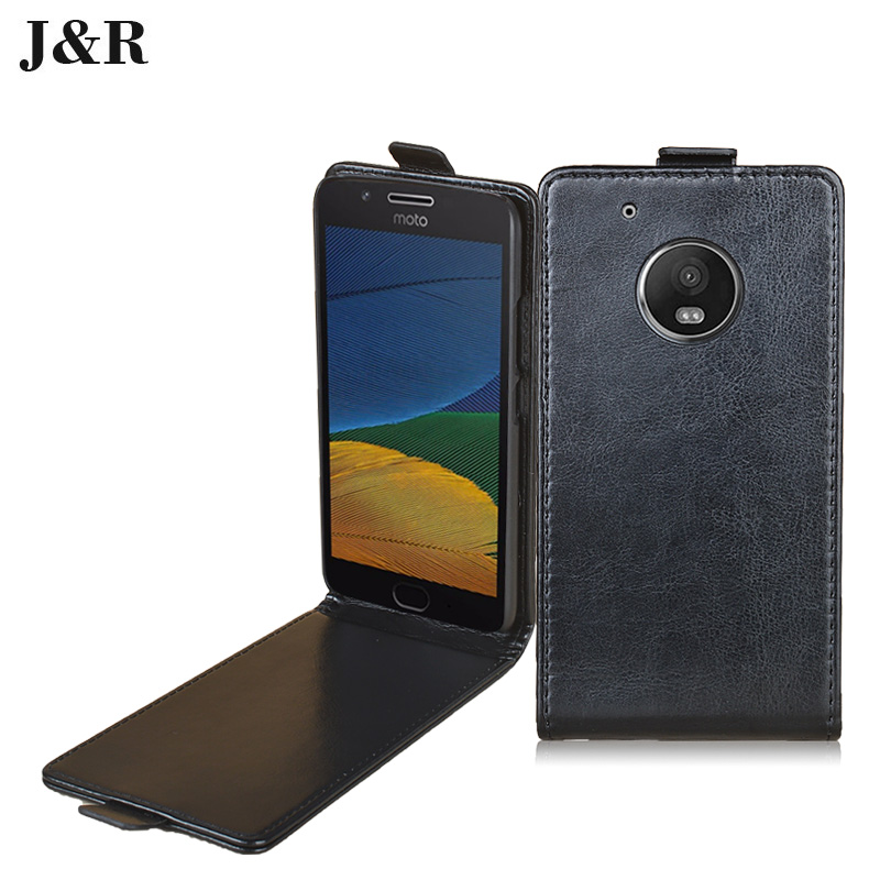 "For Moto G5 Luxury Leather Flip Case Cover For Lenovo Moto G5 Dual SIM XT1676 5.0"" Vertical Protective Mobile Phone Accessories"