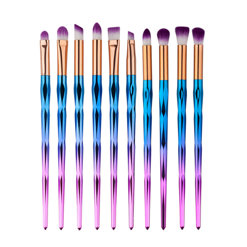 Professional Eye Makeup Brush Set Eyebrow Eyeshadow Powder Foundation Eyeliner Makeup Brush Kit Beauty Cosmetic Brush Sets Tool