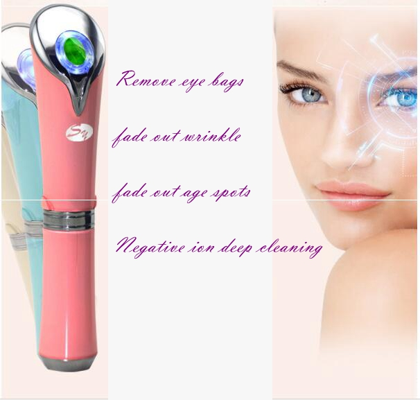 China Top grade remove eye bags appliance vibration eye beauty instrument massager eye massage pen