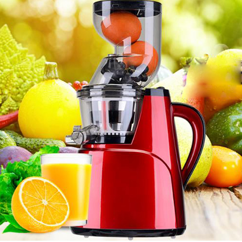 Hot sale Large Feed Chute Whole Slow Juicer wide feeding tubes Quiet low speed juice extractor for fruit vegetable citrus