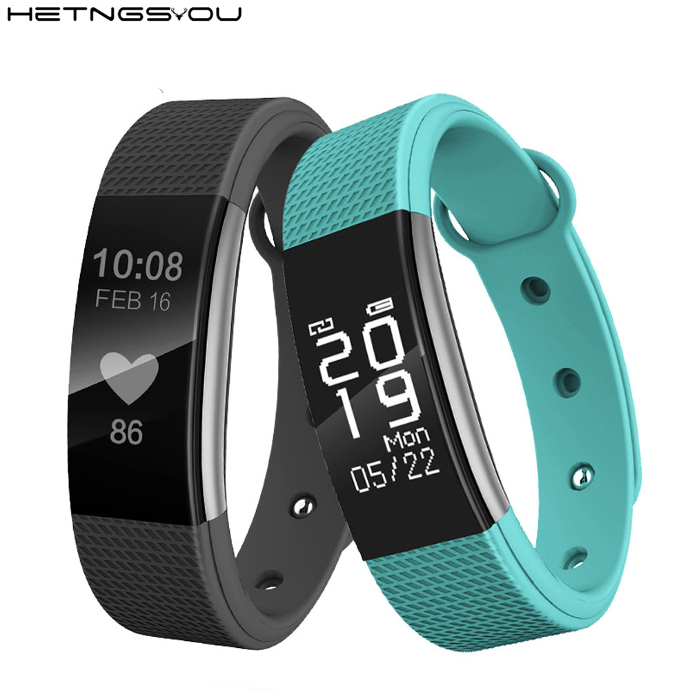 Pedometer Smart Band Step Counter Clock Smartband Bracelet Heart Rate Monitor Wristband Watches for IOS Android phone pk fitbits