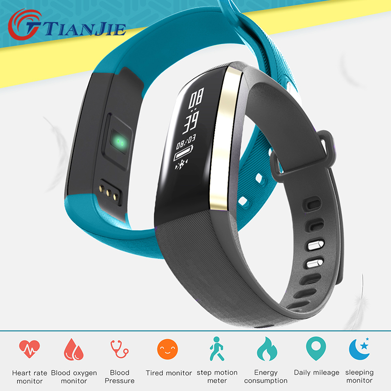 Fitness bracelet Heart Rate Monitor smart bracelet watches blood pressure activity tracker pk for IOS Android mi band 2 fitbit