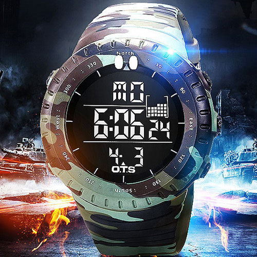 2017 Military Sport Watch Men Top Brand Luxury Electronic Digital LED Wrist Watch Male Clock For Men Hodinky Relogio Masculino
