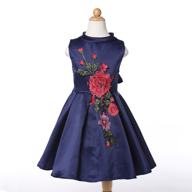 New arrival good quality girl dress,Free shipping baby girl party dress,elegent kids wedding dress,Two colors!