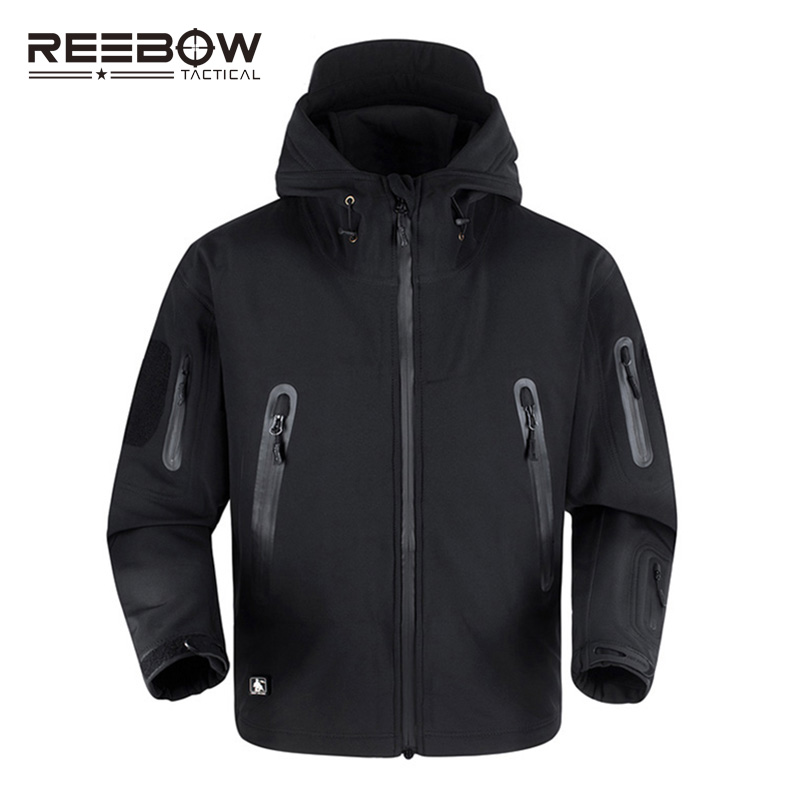REEBOW TAKTISCHE Verbesserte TD V5.0 Outdoor-sportarten Fleece Jacke Männer Winter Military Thermische Wasserdichte Softshell US Army mäntel