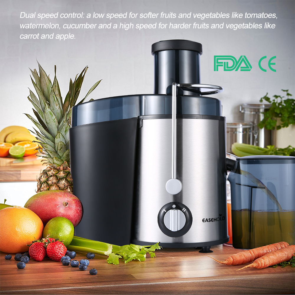EASEHOLD 2017 New Arrival 400W Juicer Dual Speed Fruit And Vegetable Juice Extractor