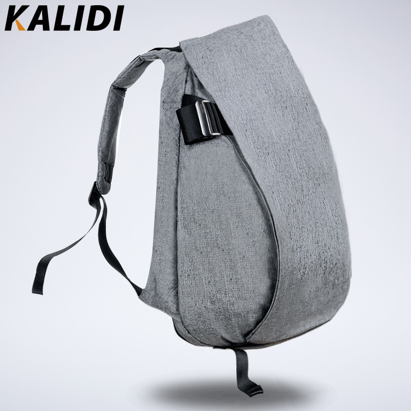 KALIDI 2016 Waterproof 15.6inch Laptop Backpack 14 inch Notebook Bag Men Backpacks bolsos para ordenador for Macbook Pro 15 Grey