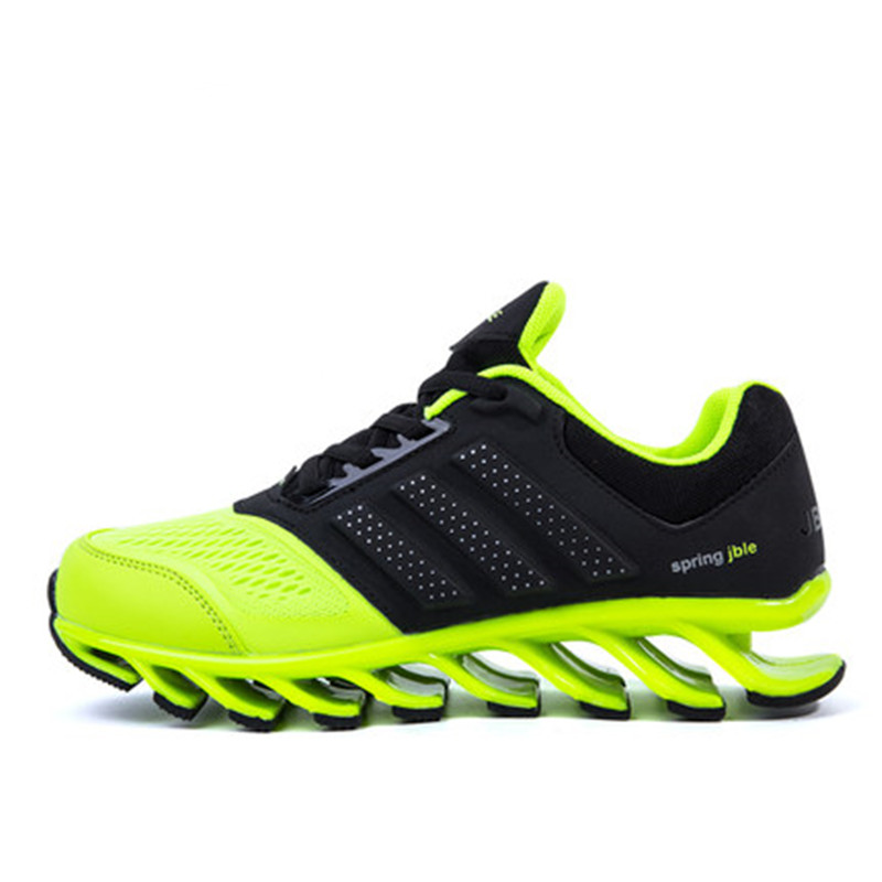JINBEILE Hot Sale Formotion Mesh Eva Spring New Sports Couple Models Wear Non-slip Cushioning Running Shoes Blade Free Shipping