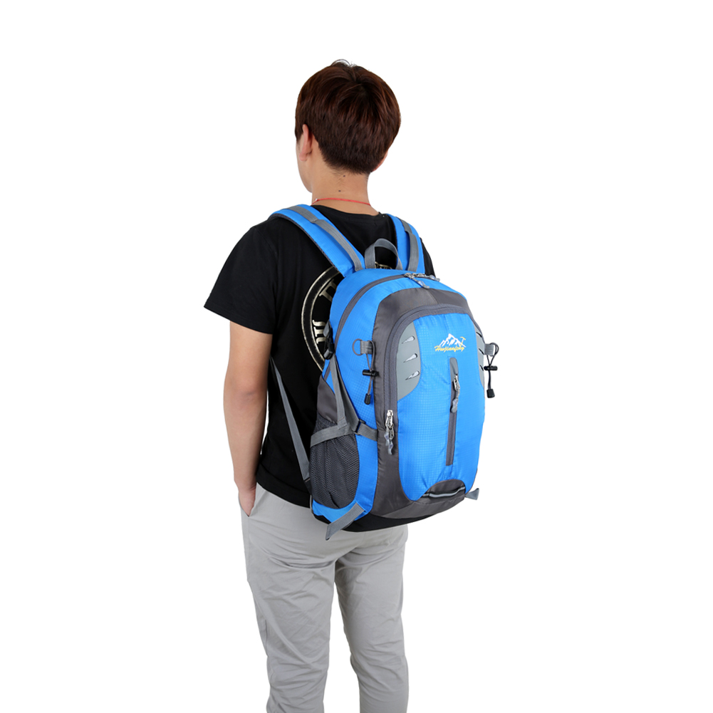 35L Backpack Waterproof Soft Nylon Durable Travel Rucksack Backpacks High Capacity Outdoor Sport Shoulder Bag Drop Shipping