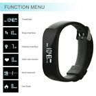 Fitness Sport Smart Watch Blood Pressure Heart Rate Fitness Activity Tracker Lot
