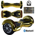 "8"" Wheels LED BlueTooth Electric Hoverboard Self balancing Scooter UL certified"