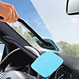 NEW Windshield Cleaner Microfiber Auto Window Cleaner Long Handle Brushes Sponges Handy Washable Car Cleaning Tool