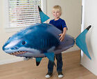 Air Flying Shark Fish Swimmer Inflatable Balloon Remote Control RC Toy Kids Gift