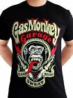 Gas Monkey Garage Spark Plugs Blood Sweat Beers Licensed Black Mens T-shirt
