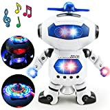 Dancing Humanoid Robot Toy With Light Children Pet Brinquedos Electronics Jouets Electronique