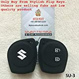 SFK Silicone 2 Button Remote Key Cover for Maruti Models (Color may vary)