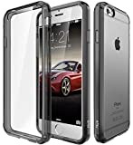 Elv Ultimate Protection Slim Scratch / Dust Proof Transparent Back Case With Shock Absorbing Case Cover For Apple Iphone 6S / Iphone 6 4.7 Inch - Grey