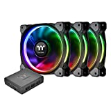 Thermaltake Riing Plus 14 RGB Tt Premium Edition 140mm Software Enabled Case/Radiator Fan -Triple Pack- CL-F056-PL14SW-A
