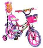 Outdoor® Bikes 14 Inches Bicycle For Kids 3 To 5 Years, Pink (Assembly Required By Customer)