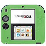 Generic Pure Color Ultra Thin Silicone Case for Nintendo 2DS (Green)
