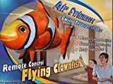 William Mark Air Swimmers Remote Control Flying Clownfish & Shark Combo 2 Pack
