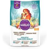 Halo Holistic Game Bird Medley Grain-Free Small Breed Dry Dog Food, 4-lb bag