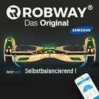 Hoverboard ROBWAY W1 CHROM E-Balance Scooter Elektro Roller Smart Self Balance