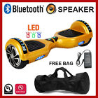 "6.5"" Bluetooth Speaker LED 2-Wheel Self Balancing Scooter UL2272 7-Color Options"