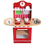Creative Kids Size Adorable Wood Kitchen Cooking Pretend Play Toy Set Bring Big Feasts For The Whole Family