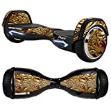 MightySkins Protective Vinyl Skin Decal for Razor Hovertrax 2.0 Hover Board Self-Balancing Smart Scooter wrap cover sticker skins Mosaic Gold