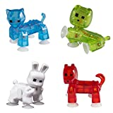 Zing Stikbot 4x Pets : Cat, Dog, Rabbit, Bulldog