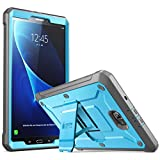 Galaxy Tab A 10.1 Case, SUPCASE [Heavy Duty] [Unicorn Beetle PRO Series] Full-body Rugged Protective Case with Built-in Screen Protector for Samsung Galaxy Tab A 10.1 inch (2016) (Blue/Black)