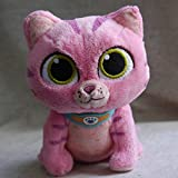 "TONGROU Friends PLUSH Whispers the Pink Cat 6"" Stuffed TOY"