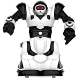 WowWee Build-Up RC Mini Robosapien Robot: DIY Educational Construction Toy with Remote Control Black, White